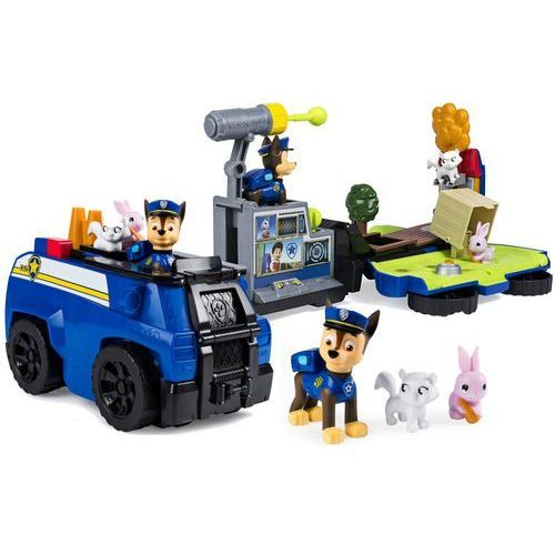 Zestaw figurek Psi Patrol Patrolowiec, Chase - DARMOWA DOSTAWA OD 199 ZŁ!!!