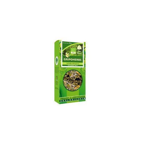 HERBATKA GRIPOHERBS BIO 50 g - DARY NATURY, 5902581617101