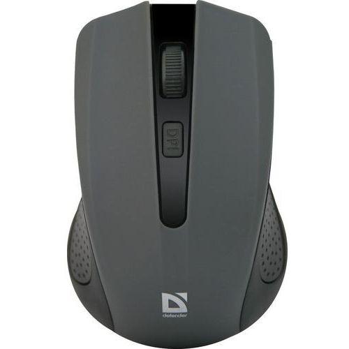 Mysz bezprzewodowa Defender ACCURA MM-935 optyczna 1600dpi 4P szara (4714033529365)