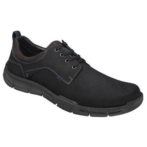 Półbuty buty JOSEF SEIBEL 26501 Phil Czarne - Czarny (4056828460690)