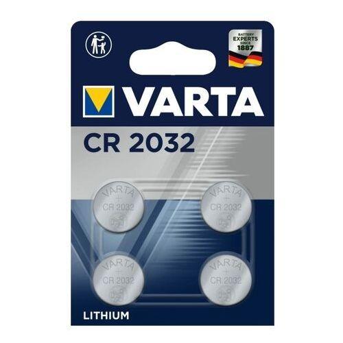 Bateria litowa Varta CR2032 guzikowa 4 szt., 6032101404