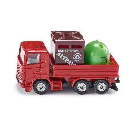 Siku Zabawka ciężarówka z pojemnikami...