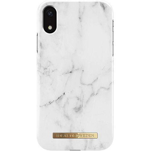 Ideal of sweden ab Ideal of sweden fashion case etui obudowa do iphone xr (white marble)