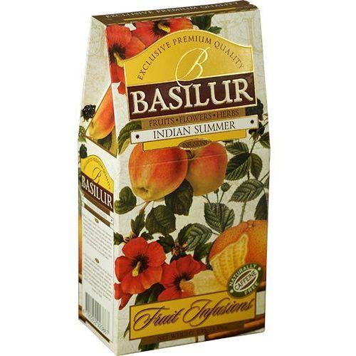 BASILUR 70878 100g Indian Summer Herbata owocowa liściasta stożek | DARMOWA DOSTAWA OD 150 ZŁ!