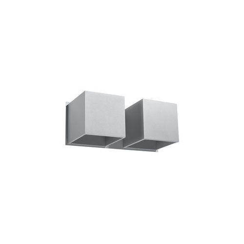 Sollux lighting Kinkiet quad 2 szary marki model sl.0658 (5903282706576)