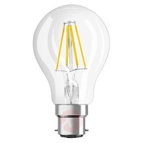 Żarówka LED OSRAM 4052899962200, B22d, 4 W = 40 W, 470 lm, 2700 K, ciepła biel, 230 V, 15000 h, 1 szt. (4052899961715)