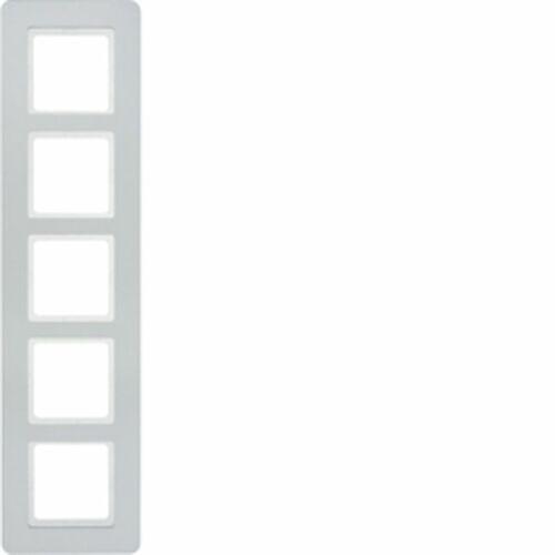 Ramka 5-krotna alu aksamit lakierowany Q.7 10156184