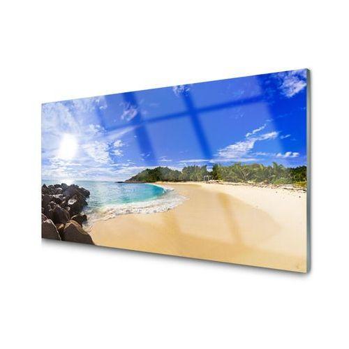 Obraz akrylowy słońce morze plaża krajobraz marki Tulup.pl