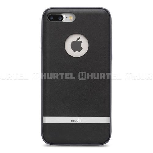 Moshi iGlaze Napa - Etui iPhone 7 Plus (Charcoal Black) Odbiór osobisty w ponad 40 miastach lub kurier 24h, kup u jednego z partnerów