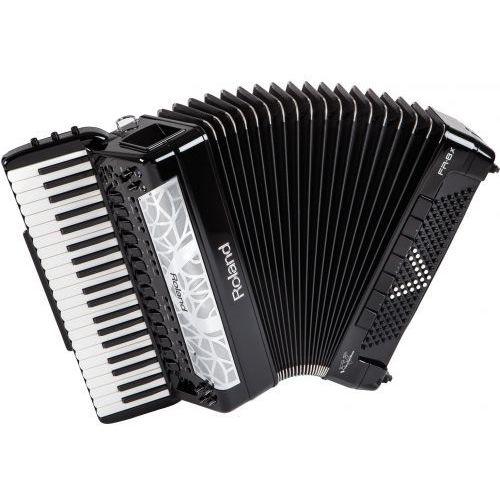 Roland fr 8 x black akordeon cyfrowy, klawiszowy