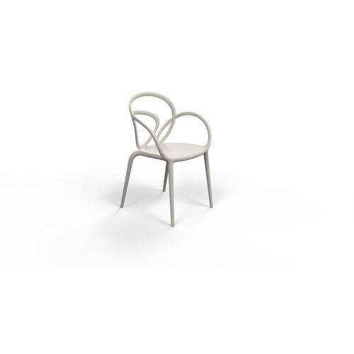 krzesło loop szare - 2 szt. 30001gy marki Qeeboo