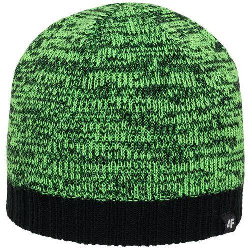Męska czapka c4z16 cam003 zielona s/m marki 4f