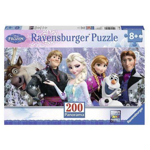 Ravensburger Puzzle kraina lodu panorama 200 (4005556128013)
