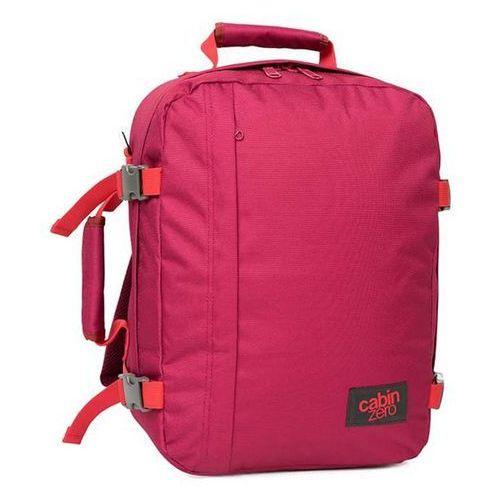 Plecak torba podręczna mini + pokrowiec organizer gratis - jaipur pink marki Cabinzero