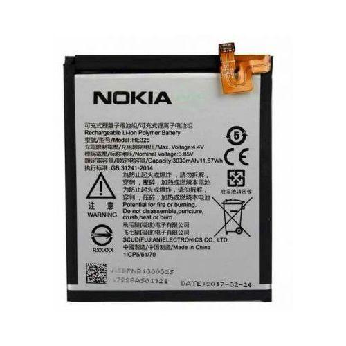 Bateria Nokia 8 HE328 3030mAh Oryginalna, HE328