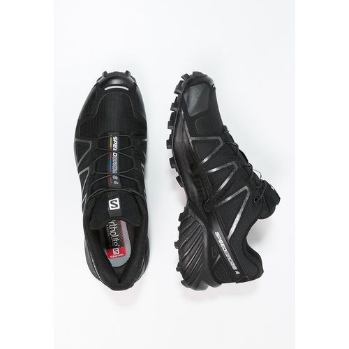 Salomon SPEEDCROSS 4 Obuwie do biegania Szlak black/black metallic, D8630