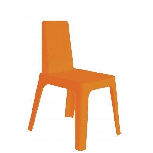 Krzesło julia pomarańczowy marki Resol