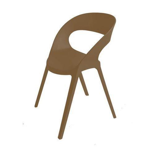 Krzesło Carla - brązowy (8411344013229)
