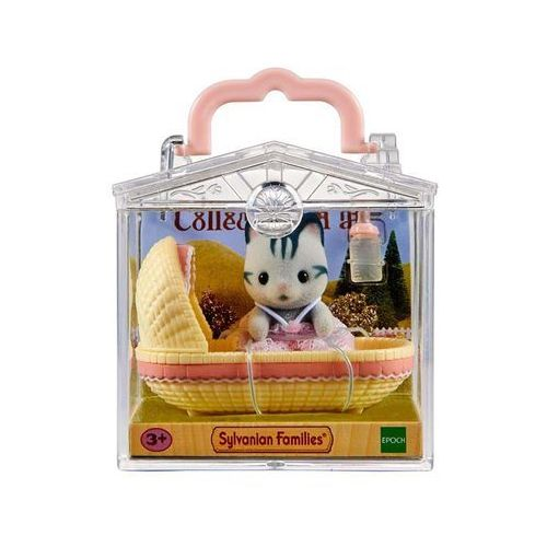 Sylvanian Families Baby Carry Case (Cat in Cradle)