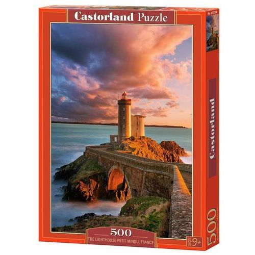 Puzzle The Lighthouse Petit Minou, France 500 (5904438052530)