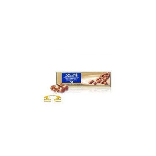 Czekolada Lindt Milk Hazelnut Gold 300g, 5E4F-9113A