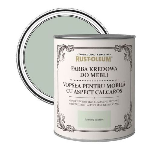 Rust-oleum Farba kredowa do mebli laurowy wieniec 0,75 l (5013296038522)
