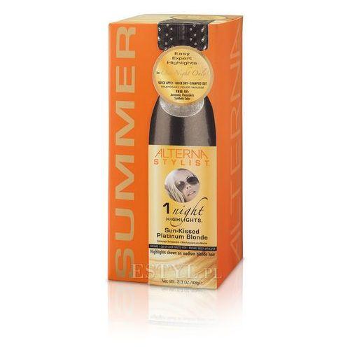 Alterna 1 Night Highlights Sun Kissed Platinium Blonde Jednodniowe pasemka: platynowy blond 93g ()