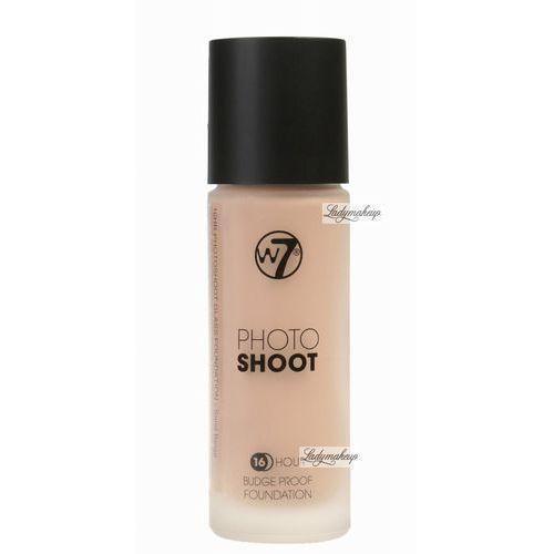 - photoshoot - 16 hour budge proof foundation - podkład - sand beige marki W7