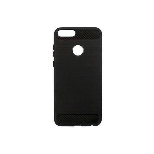 Forcell carbon case Huawei enjoy 7s - etui na telefon forcell carbon - czarny