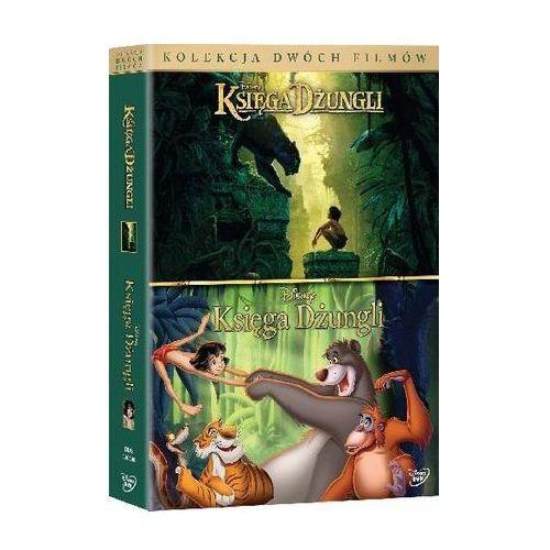 Księga dżungli (DVD) - Wolfgang Reitherman / Jon Favreau DARMOWA DOSTAWA KIOSK RUCHU
