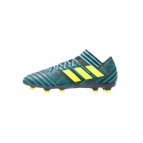 adidas Performance NEMEZIZ 17.3 FG Korki Lanki legend ink/solar yellow/energy blue, BEZ72