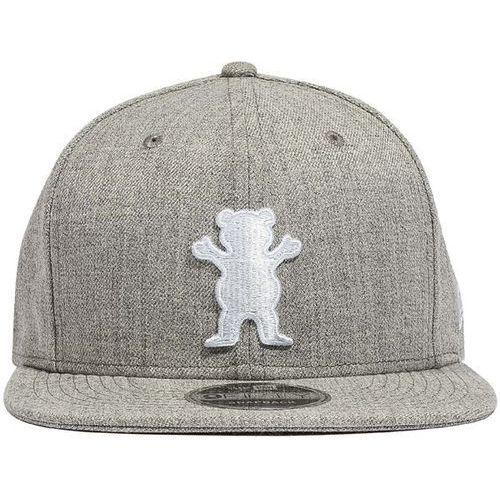 czapka z daszkiem GRIZZLY - Og Bear Snapback Heather-White (HTWH)