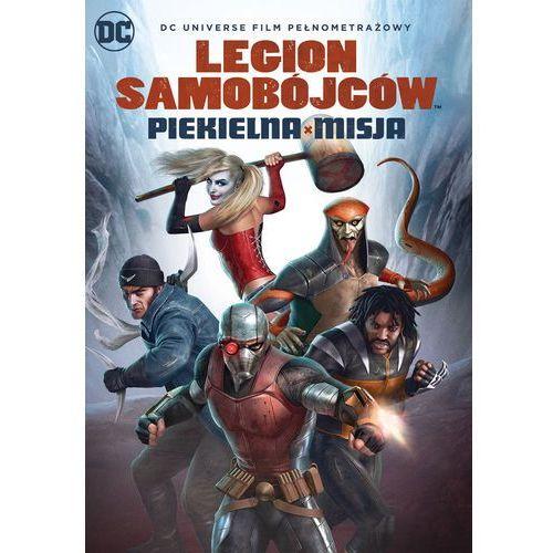 Sam liu Dcu legion samobójców: piekielna misja (płyta dvd)
