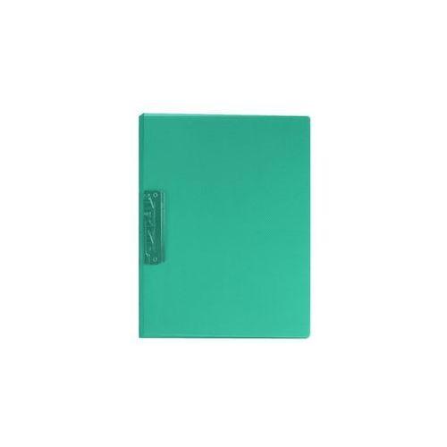 Segregator z dźwignią A4 1,8 cm transparentny zielony Biurfol