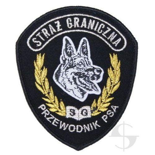 Sortmund Emblemat straży granicznej - przewodnik psa