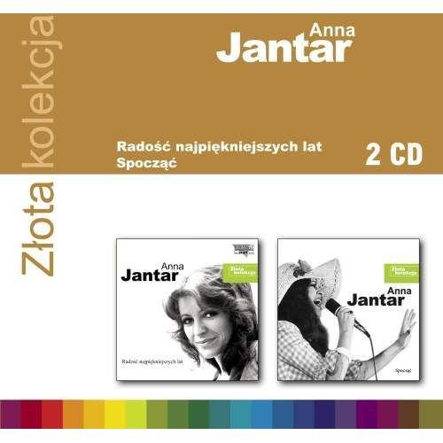 Emi music poland Anna jantar - złota kolekcja vol. 1 & vol. 2 - album 2 płytowy (cd) (5099963301328)