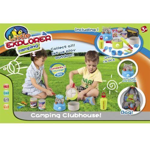 Kindersafe Zestaw piknikowy + kuchenka + świeci i gra /80d