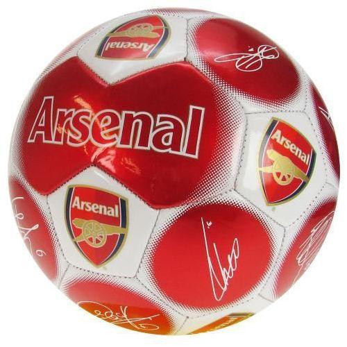 Gadzetowo24.pl Mini piłka nożna z podpisami arsenal londyn roz 1