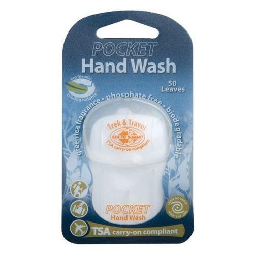 Listki myjące do higieny osobistej trek & travel pocket hand wash marki Sea to summit