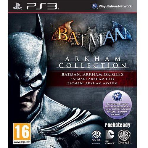 OKAZJA - Batman Arkham Collection (PS3)