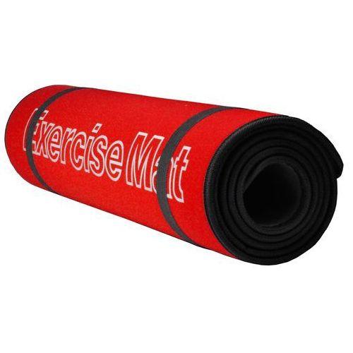 MATA DO ĆWICZEŃ 180x60x0,6cm - czerwony / czarny - produkt z kategorii- Maty i materace