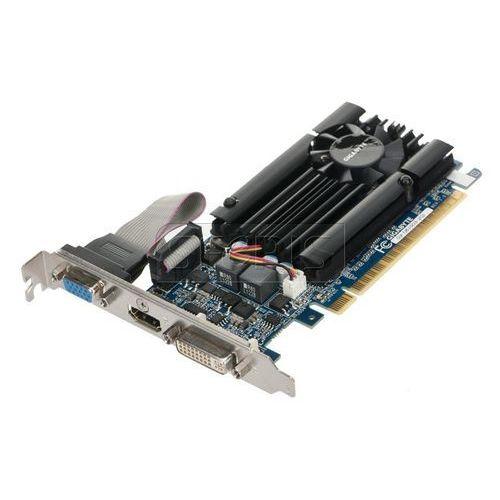 Karta graficzna GIGABYTE GeForce GT 610 2048MB DDR3/64bit DVI/HDMI PCI-E (810/1333) - GV-N610D3-2GI