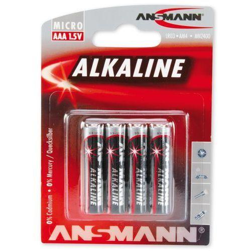 Ansmann Bateria, 4xAAA Blister, 1.5V (5015553) Darmowy odbiór w 21 miastach!, 5015553