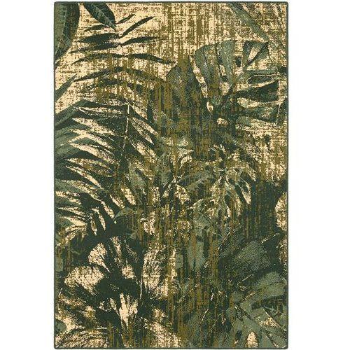 Dywan basic jungle ciemny zielony 133x180 marki Agnella
