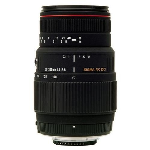 Obiektyw 70-300 f4-5.6 apo dg macro mocowanie pentax marki Sigma