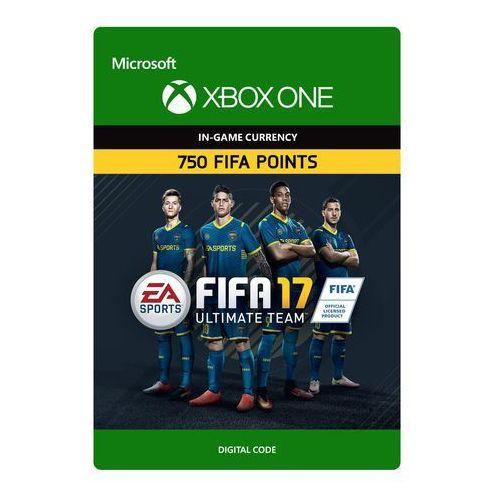 Kod aktywacyjny Gra XBOX ONE Fifa 17 - 750 punktów