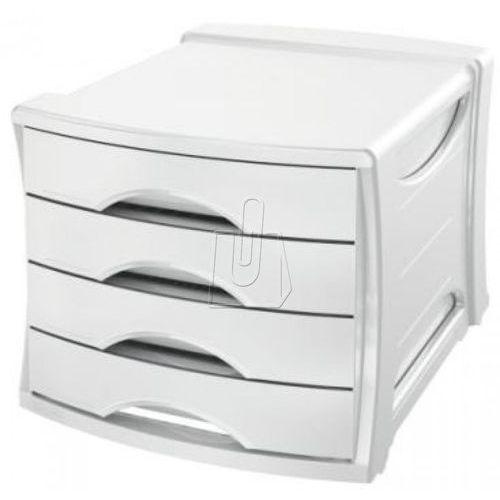 Pojemnik z 4 szufladami europost vivida biały marki Esselte