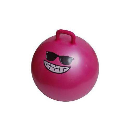 Dziecięca piłka fitness do skakania jumping ball 55 cm, różowa marki Lifefit