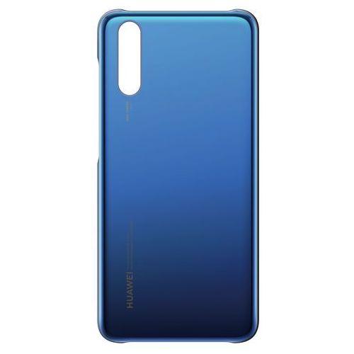 Etui Huawei do P20 błękitny (6901443213986)