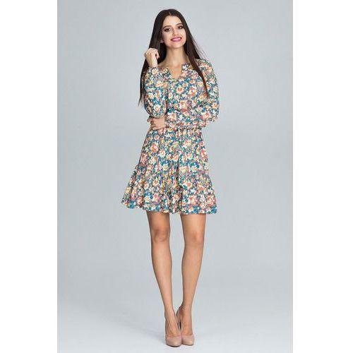 sukienka damska L/XL wielokolorowa